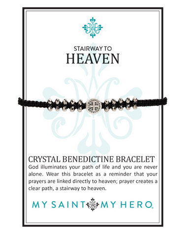 My Saint My Hero Stairway to Heaven Bracelet