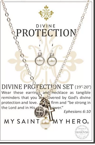 My Saint My Hero Divine Protection Necklace