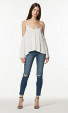 PEOPLE PROJECT LA (PPLA) TROY COLD SHOULDER TOP