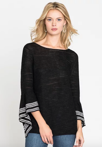 Nic + Zoe Traveling Stripe Top