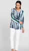 Nic + Zoe Sea Stripe Top