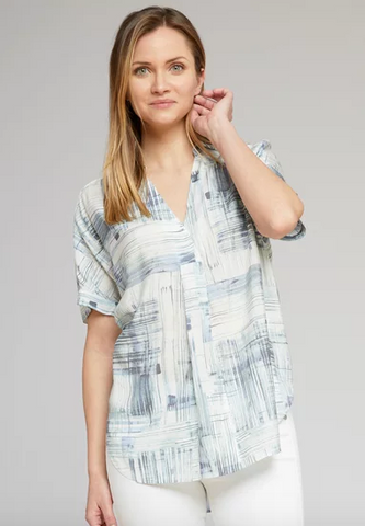 Nic + Zoe Shoreline Grid Top