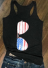 4th of July Sunglasses USA Tank