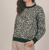 Molly Bracken Leopard Print Sweater