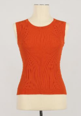 Molly Bracken Tank in Red Coral or White
