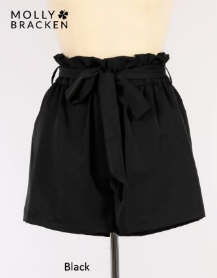 Molly Bracken Paper Bag Shorts