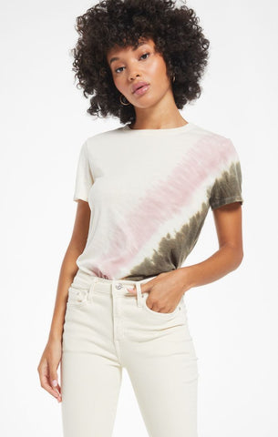 Z Supply Easy Stripe Tie-Dye Tee