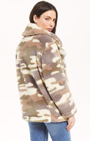 Z Supply Pippa Camo Coat