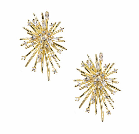 Bracha Firework Stud Earrings