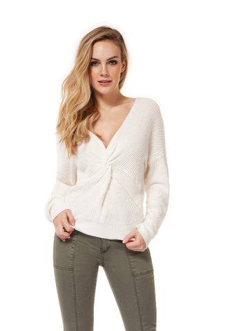 Dex V-Neck Twist Sweater