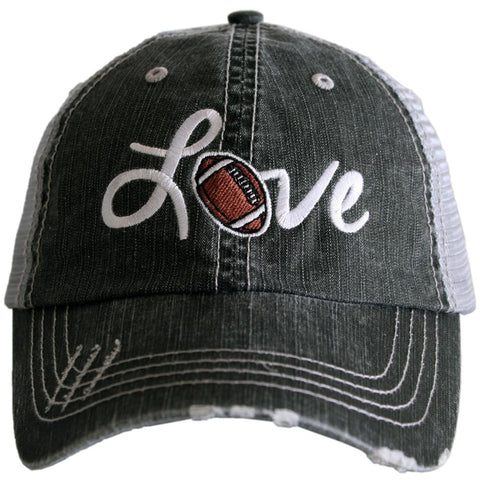 Katydid Love Football Hat