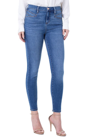 Liverpool Abby High Rise Skinny with Slant Pockets