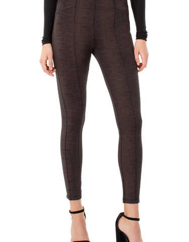 Liverpool Reese Leggings in Copper Black
