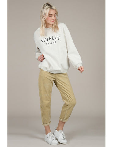 Molly Bracken Lili Sidonio Finally Friday Sweatshirt