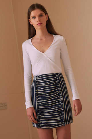 The Fifth Label Poppy Stripe Skirt