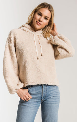 Z Supply The Sherpa Pullover in Pearl