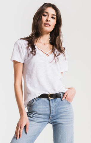 Z Supply The Airy Slub Crossroads Tee