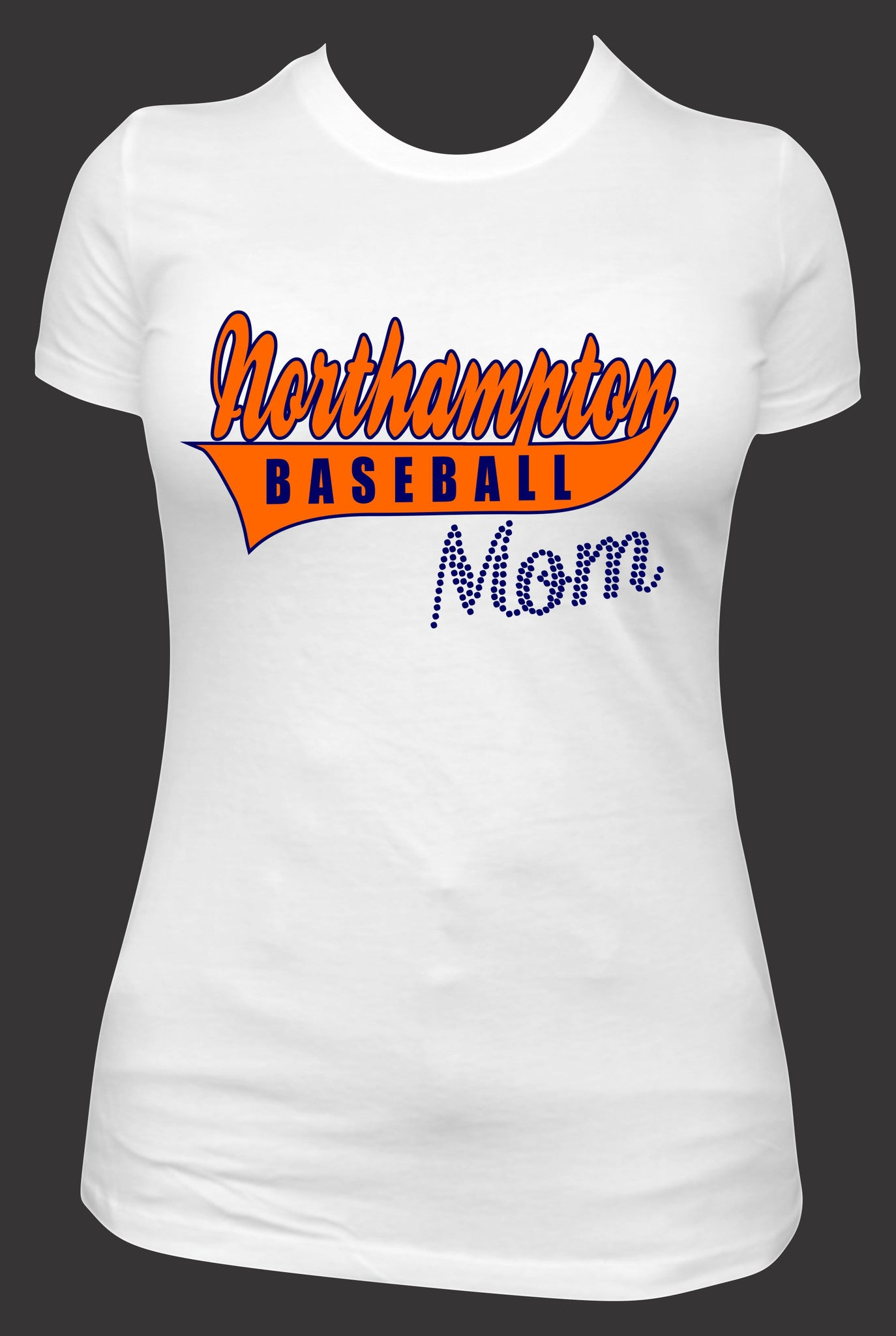 Northampton Baseball Mom T-Shirt