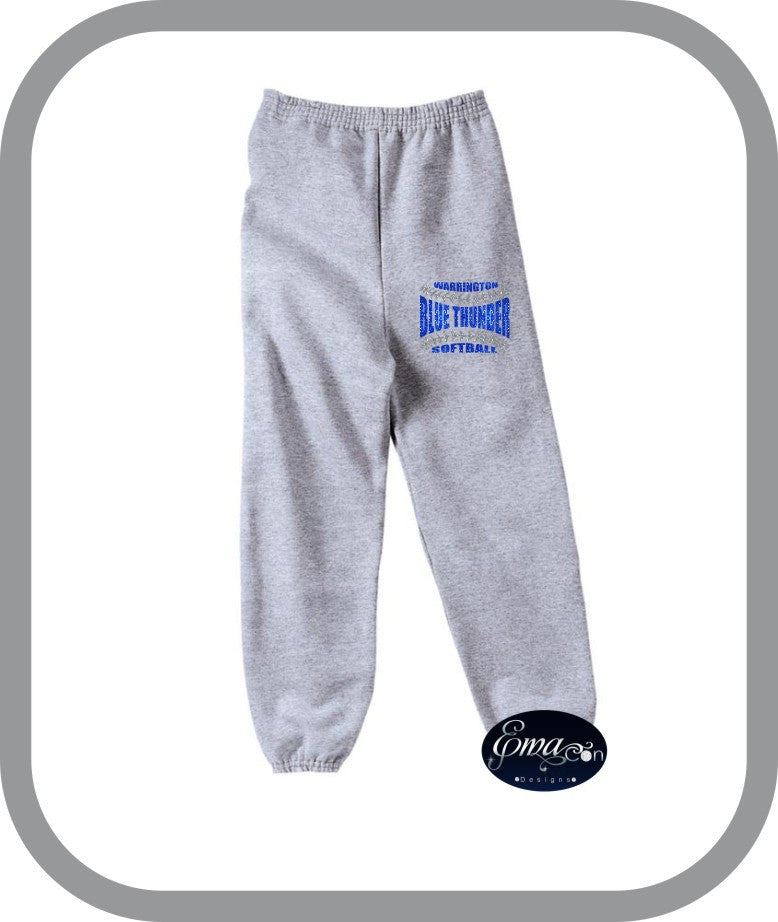 Blue Thunder Softball - Youth Lounge Pants
