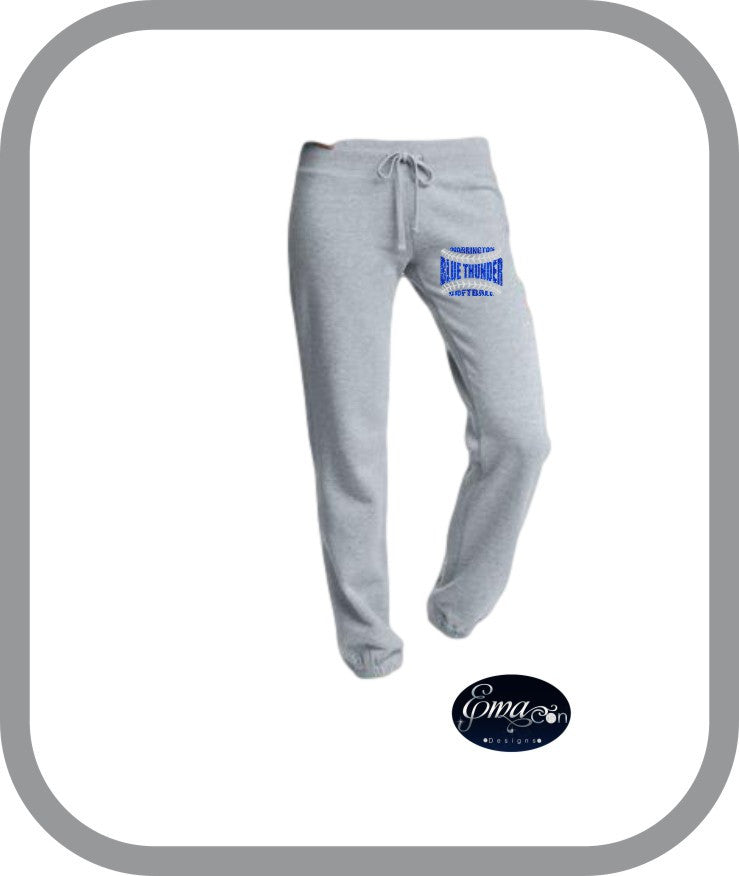Blue Thunder Softball - Ladies Lounge Pants
