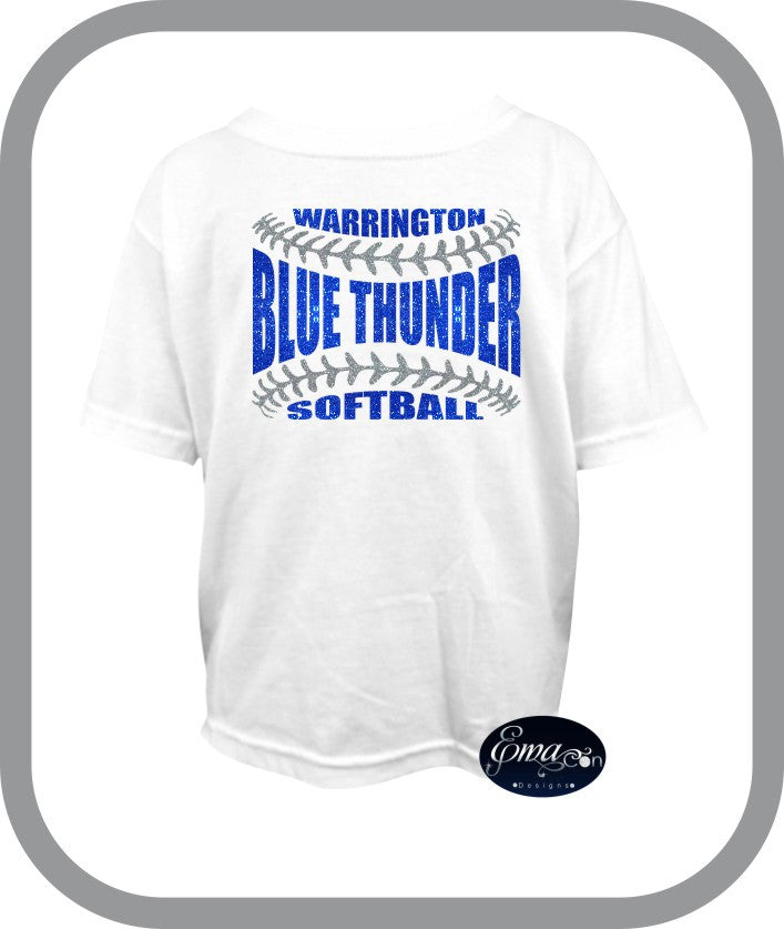 Blue Thunder Softball - Youth TShirt