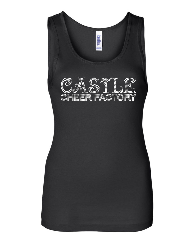 CCF Black Bling Tank