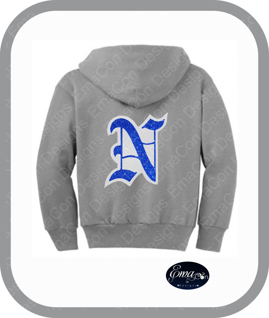 CR Newtown Baseball - Youth Zip Up Hoodies