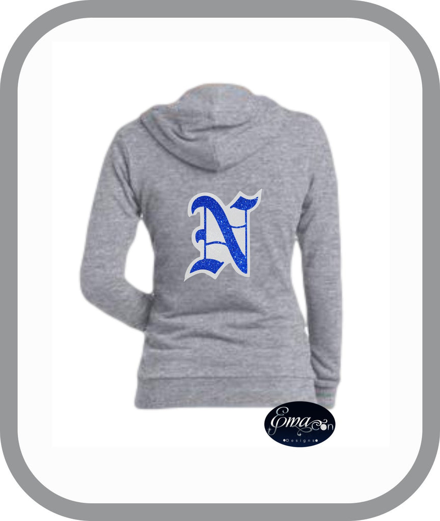 CR Newtown Baseball - Ladies Zip Up Hoodies