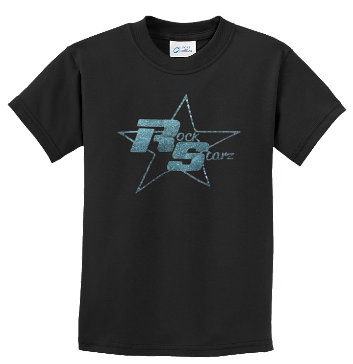 Rock Starz - Girls TShirt with choice of design