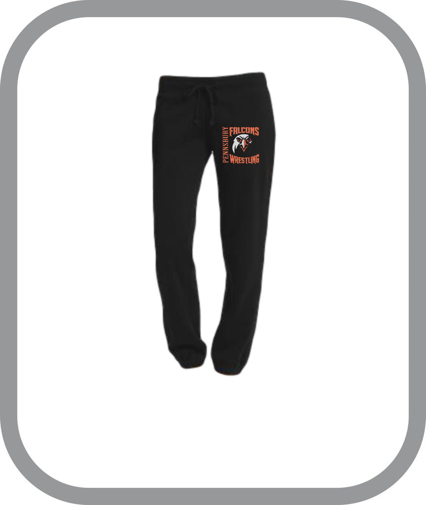 Falcons Wrestling - Ladies Lounge Pants with choice of design