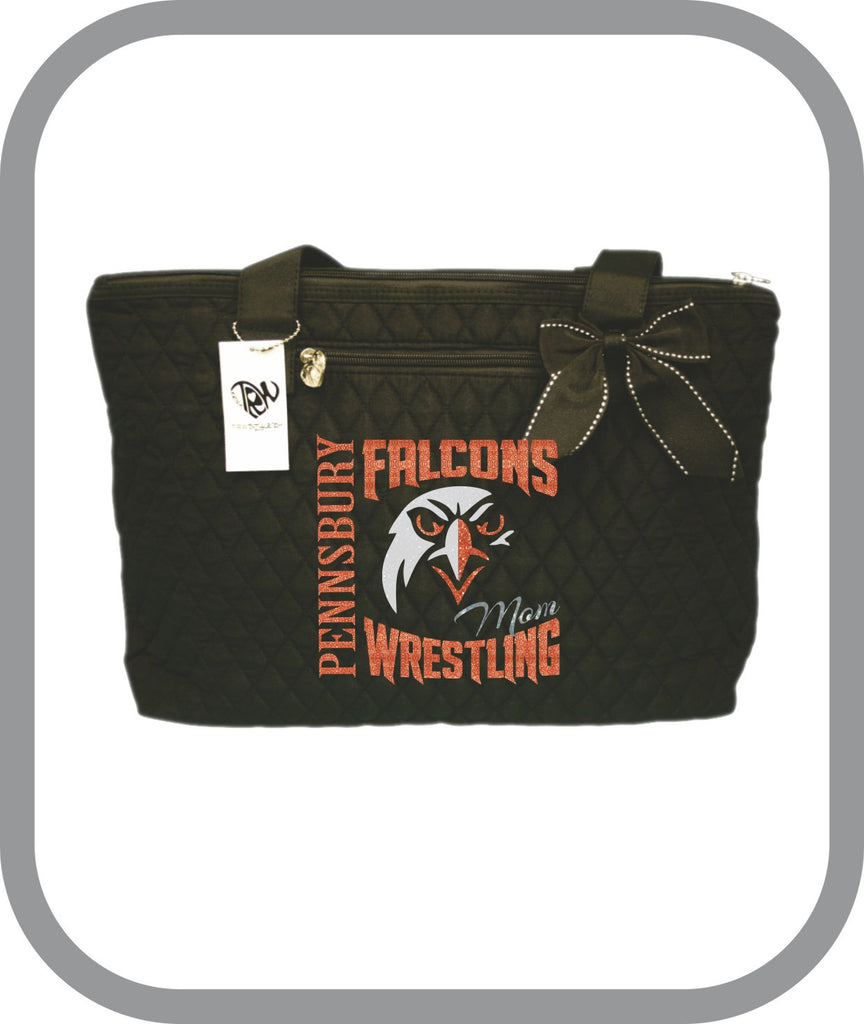 Falcons Wrestling - Tote Bag with choice of design