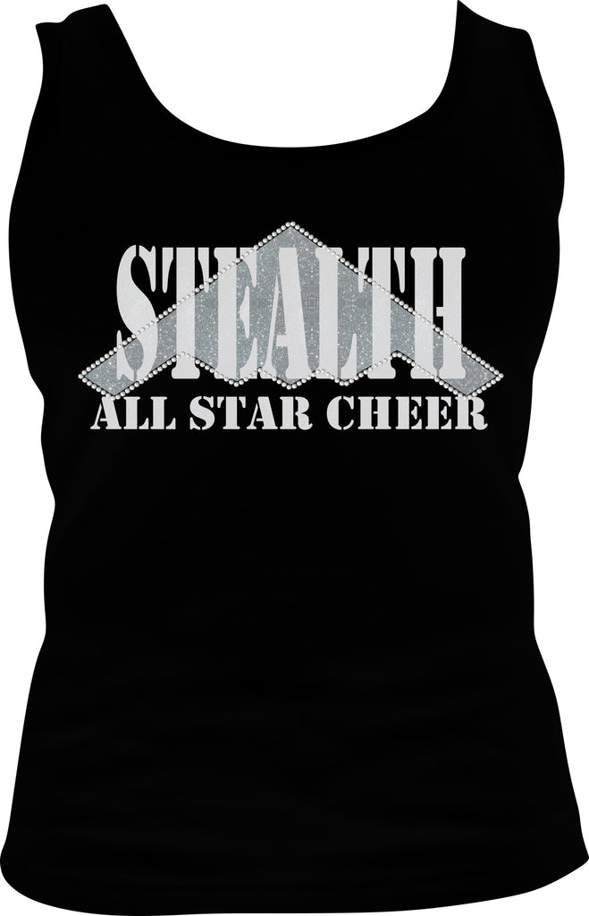 Stealth All Stars - Ladies Bling Tank Top