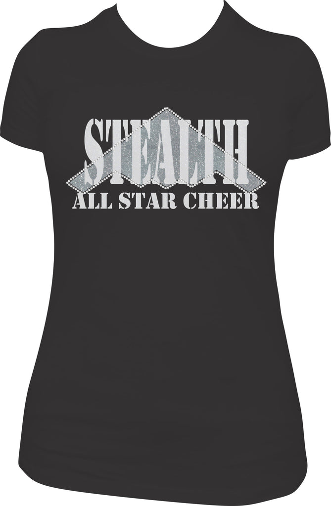 Stealth All Stars - Ladies Bling TShirt