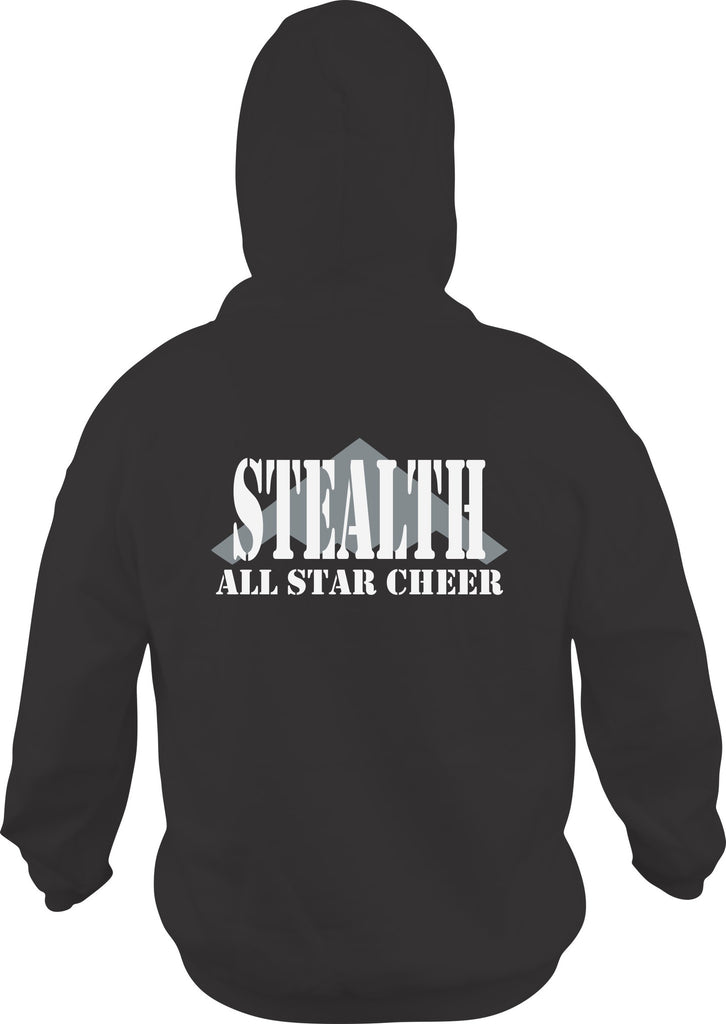 Stealth All Stars - Adult Zip Up Hoodie