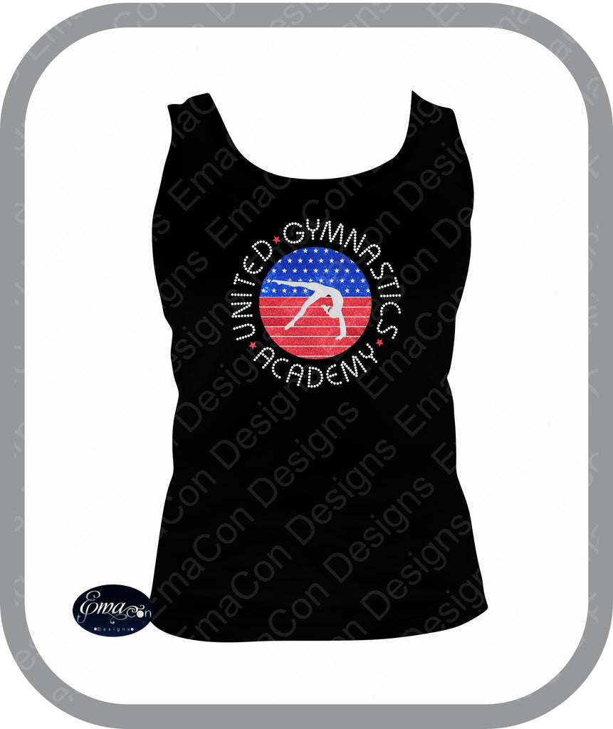 UGA - Ladies Bling Tank Top