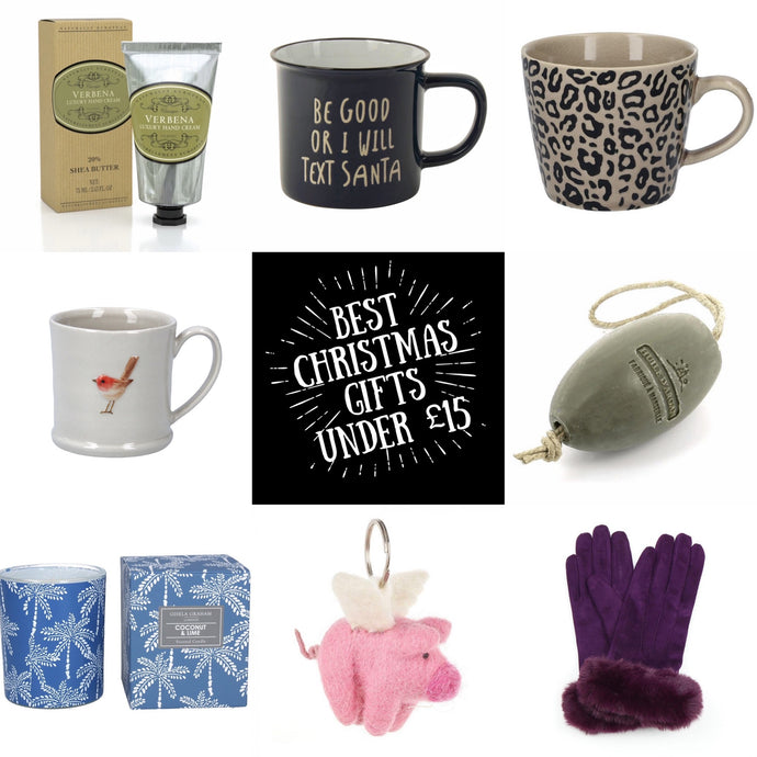 15 Christmas Gifts Under £15
