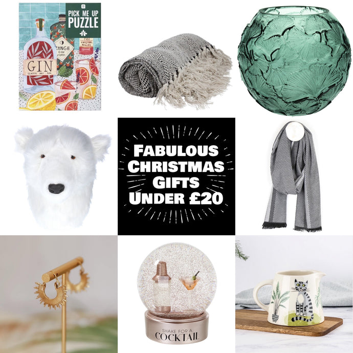 20 Fab Christmas Gifts Under £20