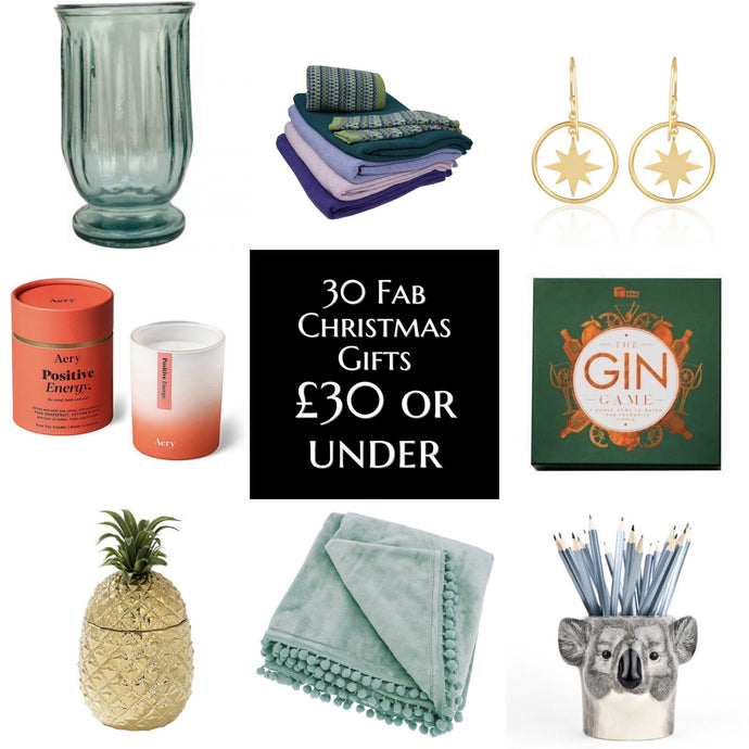 30 Fab Christmas Gifts Under £30