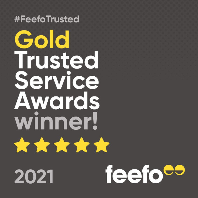 Feefo 5***** Trusted Service