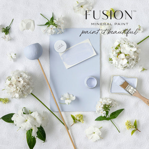 Fusion Mineral Paint in Mist Blue