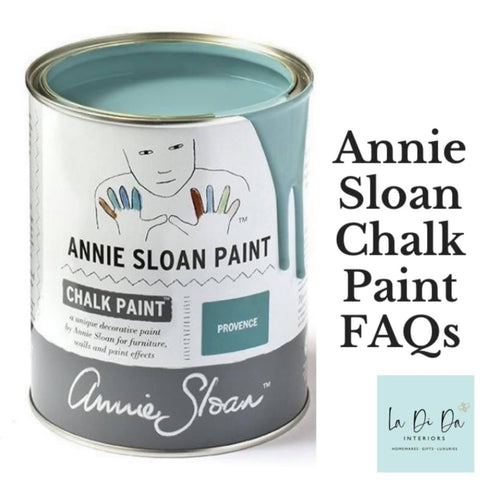 Annie Sloan Chalk Paint Frequently Asked Questions