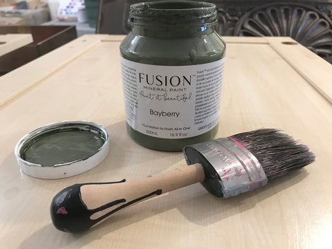 Fusion Mineral Paint in Bayberry Green