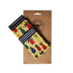 Beeswax Wraps Lunch Pack Alternative to clingfilm