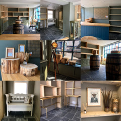 Little Whisky Shop Interior design montage