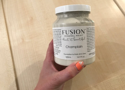 Fusion Mineral Paint in Champlain