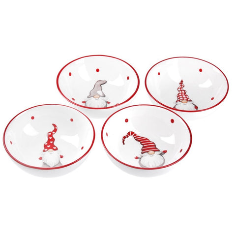 Santa Ceramic Dishes by Gisela Graham Christmas