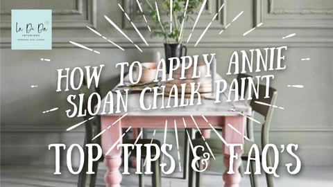 How to apply Annie Sloan Chalk Paint FAQs