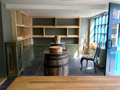 The Little Whisky Shop Interior