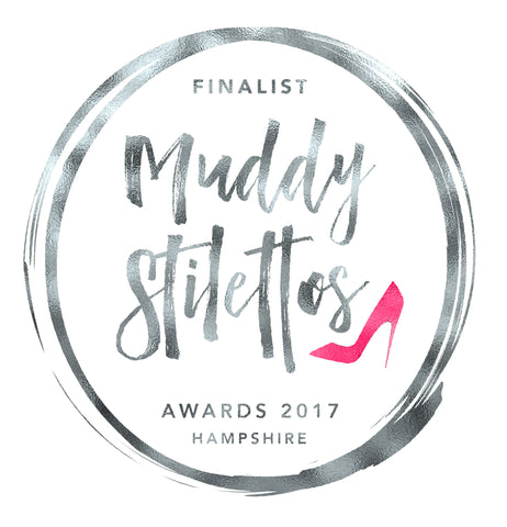 Muddy Stilettos Awards Best Interiors Shop Finalist Logo La Di Da Interiors