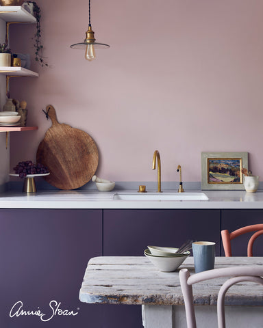 DIY Painted Kitchen example